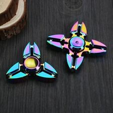 Colorful Finger Fidget Spinner Metal Kid Gift Hand Spinner for Autism And ADHD R