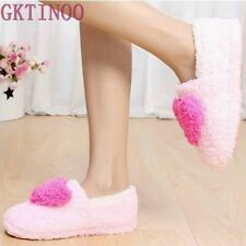 Retail!!! Lovely Ladies Home Floor Soft Women indoor Slippers Outsole Cotton-Pad