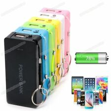 Power Bank Case With LED DIY Box Charger For Cell Phone 5V 1A 2 x 18650 Battery#