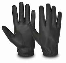 Real Genuine Classic Sheep Nappa Leather Motorbike Biker Cycling Driving Gloves