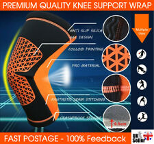 Knee Support Strap Arthritis Pain Relief Sports Gym Open Patella Protect Kneepad