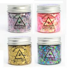 Chunky Mixed Glitter 30g Pots for Face Body Nails Eye Festivals Tattoo Cosmetic
