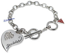 Guess Donna Gioiello Bracciale ARGENTO STRASS Beauty ubs21317