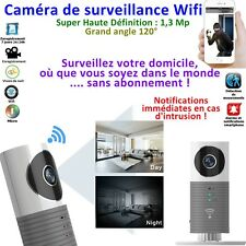 Caméra Wifi Clever Dog 2018- Gd angle 120°- 960 Ppi et Intelligence artificielle