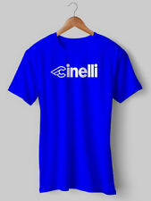 Cinelli TShirt Cycling T shirt Vintage Tee Blue Jersey Vintage Eroica bike 29