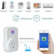Alexa WiFi Smart Devices Socket Plug LED Bulbs Electronics Appliance US EU UK B8
