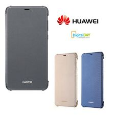 Custodia Back Cover Flip Case Ultra Slim Originale Huawei In Pelle Per P Smart