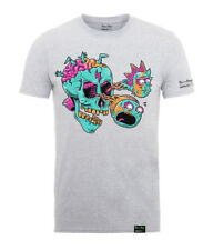 Rick y MORTY ' Eyeball Skull' T-SHIRT - Nuevo y Oficial