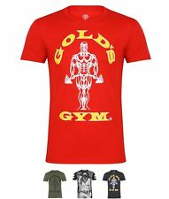 BRAND Golds Gym Gym Muscle Tee Sn73 Black