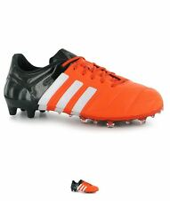 MODA adidas Ace 15.1 Leather FG Uomo Scarpe calcio Solar Orange