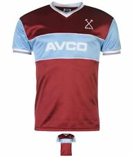 BRAND Score Draw West Ham United Football Club 1983 Home Jersey Mens Claret/Blue