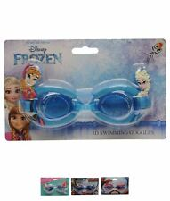 SPORT Character 3D Childrens Swimming Goggles Disney Frozen