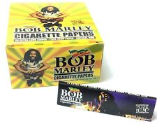Bob Marley Extra Long Leaves Pure Hemp Cigarette Rolling Joint Papers UK P&P