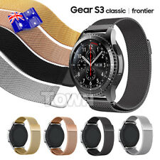 Milanese Magnetic Steel Watch Band Strap For Samsung Gear S3 Frontier Classic