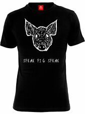 American Horror Story Speak Pig Speak Camiseta Hombre Negro