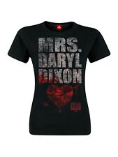 The Walking Dead Mrs. Dixon MUJER CAMISETA BLACK