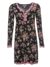 Vive Maria Bouquet d'AMOUR Nightdress Black Allover