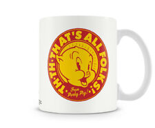 Officially Licensed Looney Tunes - That's All Folks! From Porky Pig Coffee Mug