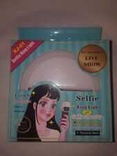 Selfie LED Light  Camera For Phone & Tablet iPhone Samsung  Flash Fill Clip