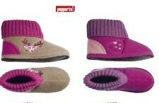 Kids Slippers House Shoes Girls Boys Size 25 - 35 Blue/ Pink/ Rosa / Black