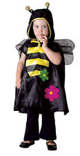 GIRLS TODDLER BUSY BEE COSTUME FANCY BOOK DAY DRESS TODDLER COMPLETE OUTFIT
