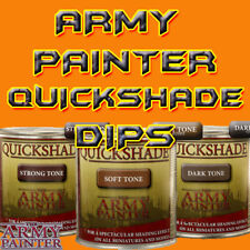 The Army Painter Quickshade (250ml) Wash Dip for Dipping Miniatures all 3 Shades
