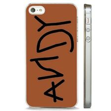 Andy Signature Toy Story Woody Shoe CLEAR PHONE CASE COVER fits iPHONE 5 6 7 8 X
