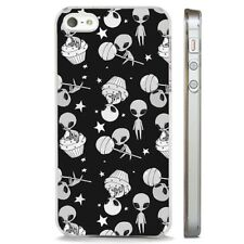 Alien Martian Space Stars UFO CLEAR PHONE CASE COVER fits iPHONE 5 6 7 8 X