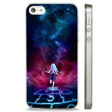 Sky Auora Stars Space Northern CLEAR PHONE CASE COVER fits iPHONE 5 6 7 8 X