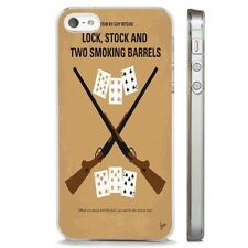 Lock Stock Two Smoking Barrels CLEAR PHONE CASE COVER fits iPHONE 5 6 7 8 X