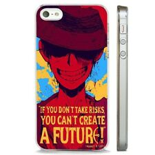 One Piece Luffy Anime Art Manga CLEAR PHONE CASE COVER fits iPHONE 5 6 7 8 X