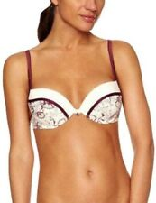 Sloggi Bloomy World WHU con ferretto, mezza coppa, Push-Up Reggiseno
