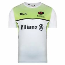 BLK Sport Saracens Rugby Coaches Training Tee 2017/18 - White