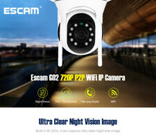 ESCAM 720P P2P WiFi IP Camera Night Vision / Pan Tilt Function For Android/IOS