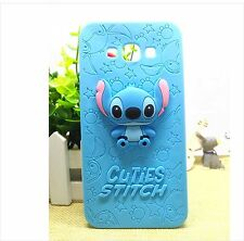 housse de couverture Coque silicone cartoon bandes dessinées stitch 3D