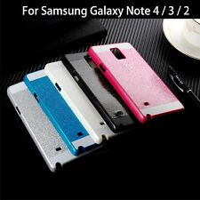 Cubierta de la caja case plastic brillo bling fashion para samsung galaxy Note 2