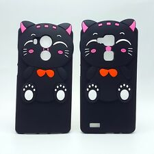HOUSSE DE COUVERTURE COQUE silicone 3d chat heureux cartoon kitty pour HUAWEI