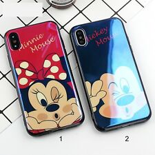 Housse Etui silicone 3D minnie mickey souris pour Apple IPhone 6 7 8 Plus
