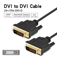 1m/2m/3m DVI-D Cable DVI D 24+1pin Dual Link Adapter DVI Cable for 1080P HDTV