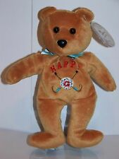 Celebrity Bears # 47 Adam Sandler beanie bag bear from Happy Gilmore