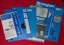 BIRMINGHAM CITY FOOTBALL PROGRAMMES 1966-1972 LEAGUE & CUP - SELECT PROGRAMME