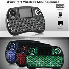 iPazzPort 21S Mini Tastiera Wireless con Touchpad Retroilluminazione Italiano