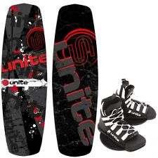 BASE Sports Revolver 140 UNITE Wakeboard package wakeboardbindung 2017 ROSSO
