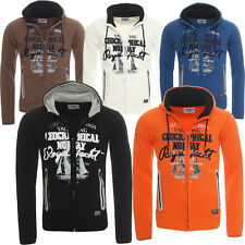 GEOGRAPHICAL NORWAY gayroll à capuche veste sweat pull cardigan Tailles S-XXXL