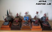 Bloodletters Daemons of Chaos Demoni del Caos Warhammer Age of Sigmar Painted