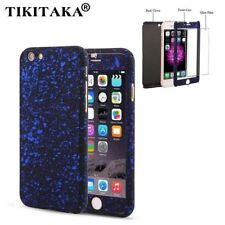 3D Stars Matte 360 Case For iPhone 5 5s SE 6 6s Plus Capa Ultra Thin Hard Froste