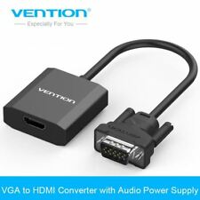 Vention VGA to HDMI Converter Cable Adapter with Audio 1080P VGA HDMI Adapter fo