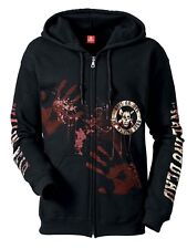 THE WALKING DEAD KILL OR DIE Zip Felpa con cappuccio, Giacca cappuccio da uomo