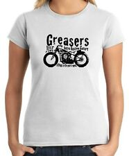 T-shirt Donna WC0381 Greasers Live Life