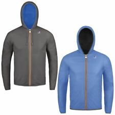 KWAY Uomo Giubbino JACQUES PLUS DOUBLE K002XP0 A53 GREY S-AZURE B ESTATE 2018